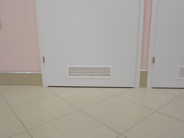How To Install A Door Vent Hunker