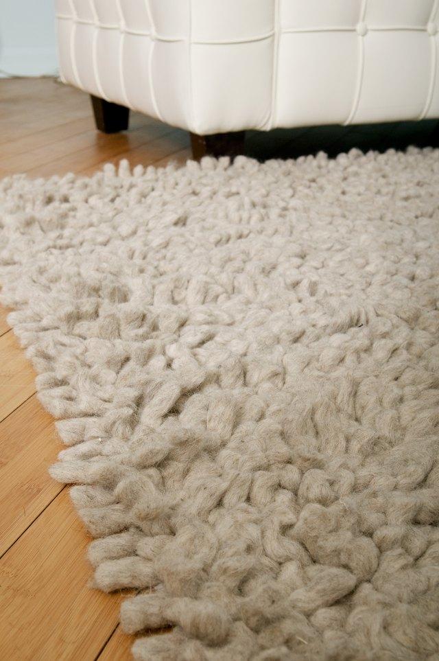 How to Make a No Sewing Rag Rug | Hunker