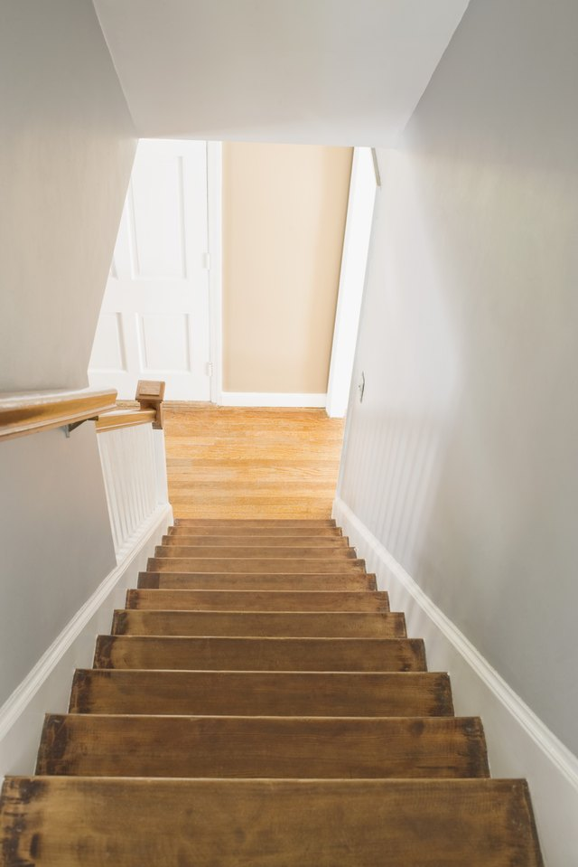 Basement Stair Landing Decorating: How To Keep The Downstairs Heat From Rising To The Second
