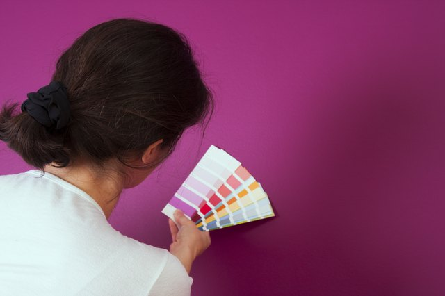 Selecting the color
