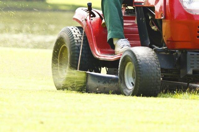 Choosing A Riding Lawn Mower For Hilly Terrain Hunker