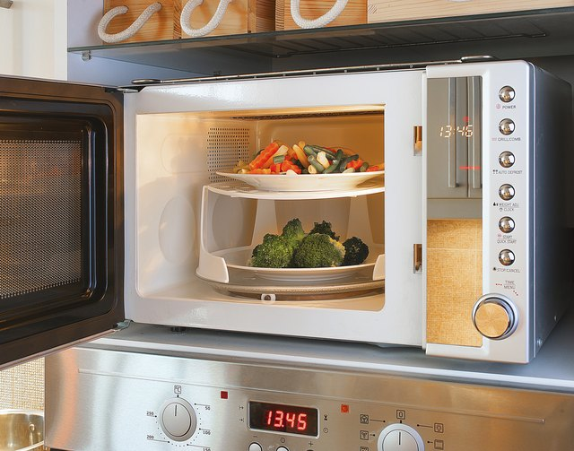 How To Get A Burnt Smell Out Of Microwave Ovens Hunker