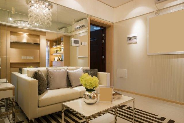 Drop ceiling lighting options hunker living room aloadofball Choice Image