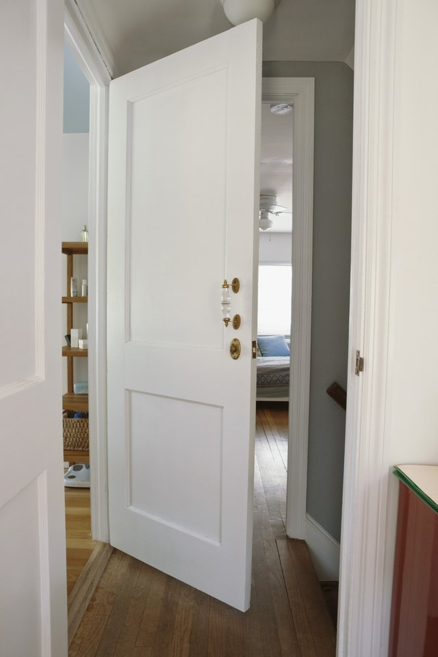 How To Make A Door Frame Wider Hunker