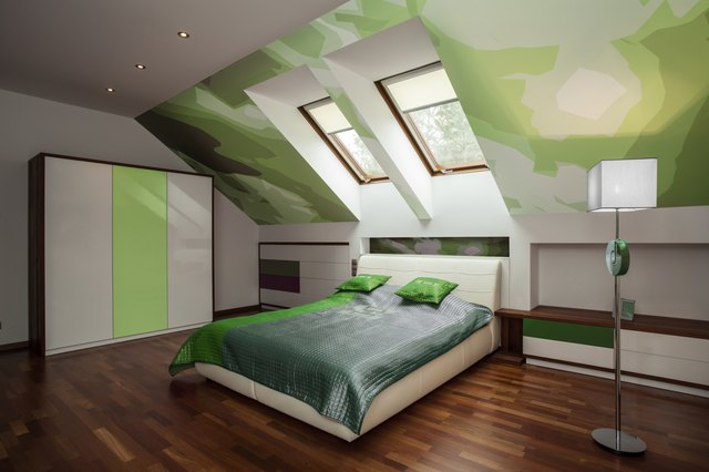 Bedroom Decorating Ideas With A-Frame Ceilings   Hunker on