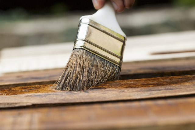 How To Clean Wood Stain From Brushes Hunker