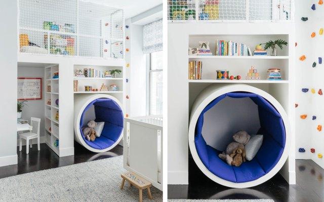 playroom tunnel