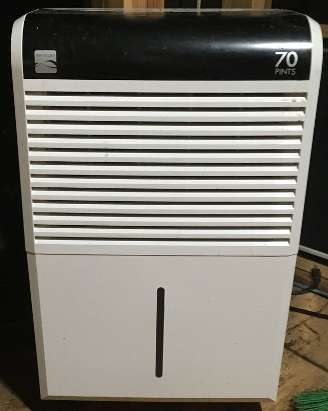 Front view of dehumidifier.