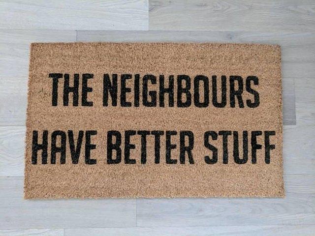 thief doormat