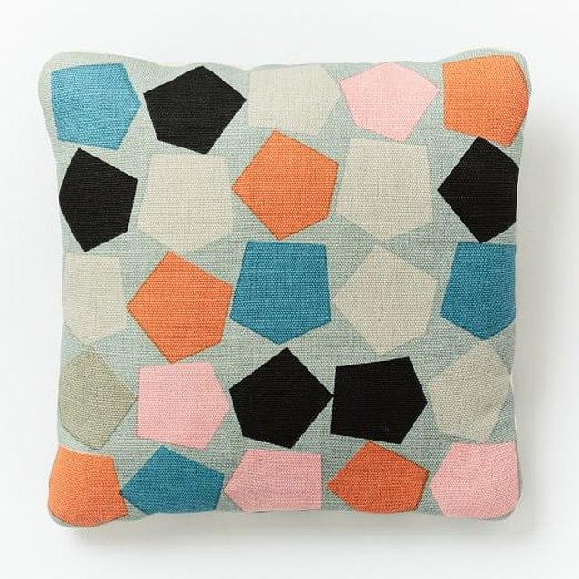Dusen Dusen Outdoor Pentagons Pillow