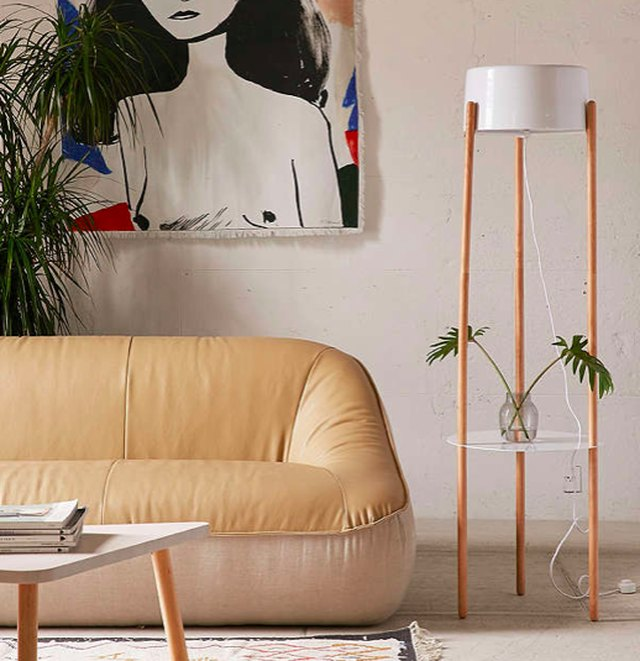 10 Floor Lamps That Also Have Shelving Hunker