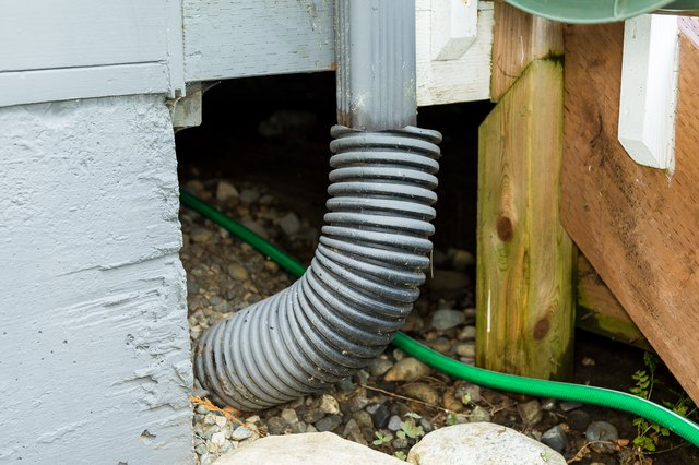 How To Unclog Underground Rain Gutter Drain Piping Hunker