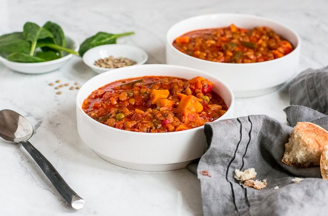 The Butter Half's Vegetable Soup Recipe