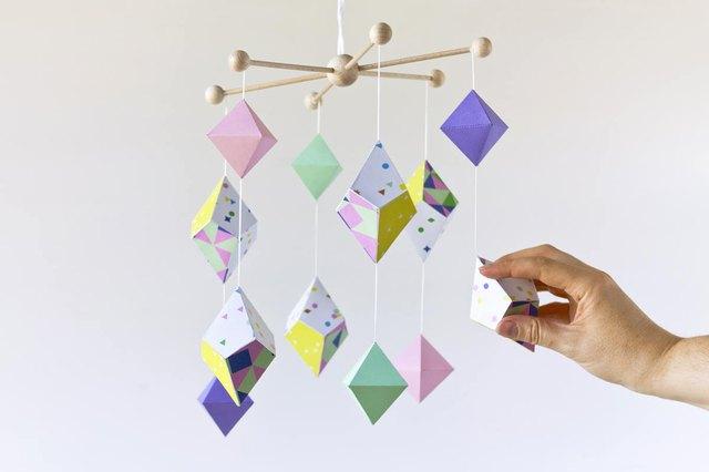 paper ornament mobile