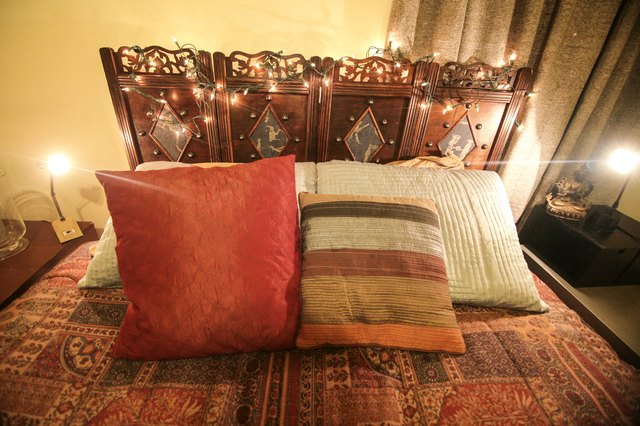 Ideas On Where To Hang Christmas Lights In A Bedroom Hunker - How to hang christmas lights in bedroom