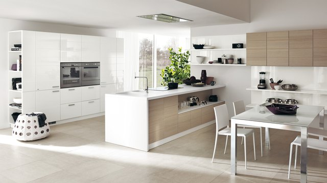 modern italian kitchen