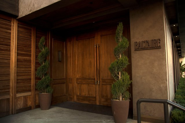 Baltaire entrance and front doors