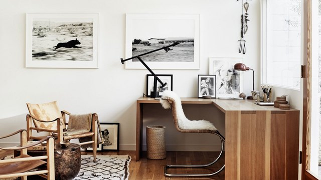 Scandinavian style office space