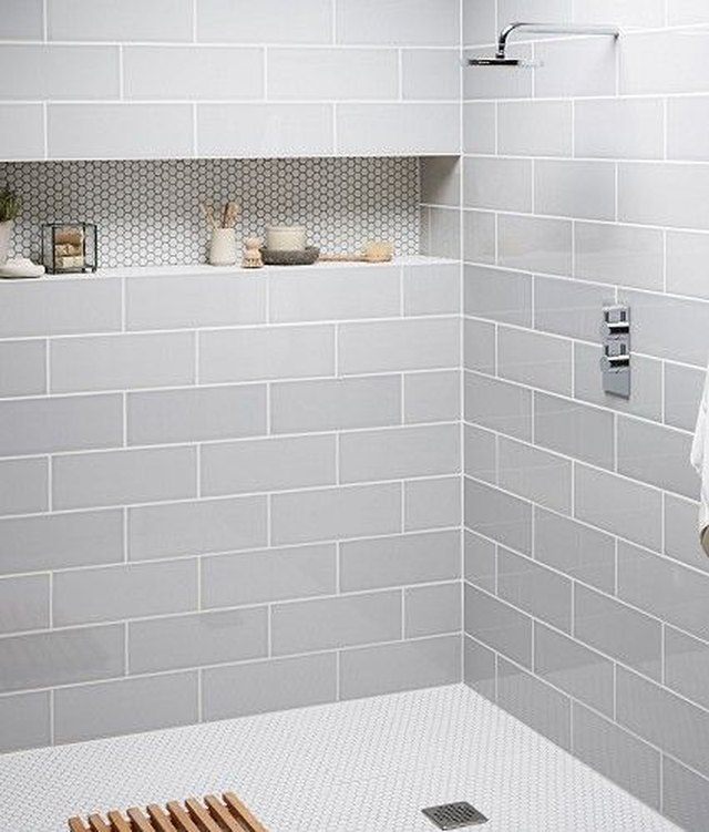 Genial Penny Tile. Shower Floor