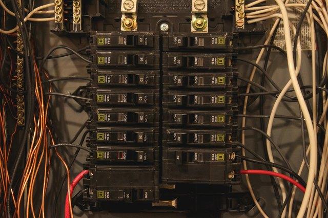 how to install a 240v circuit breaker hunker rh hunker com 240V Circuit Breaker 240V Circuit Breaker