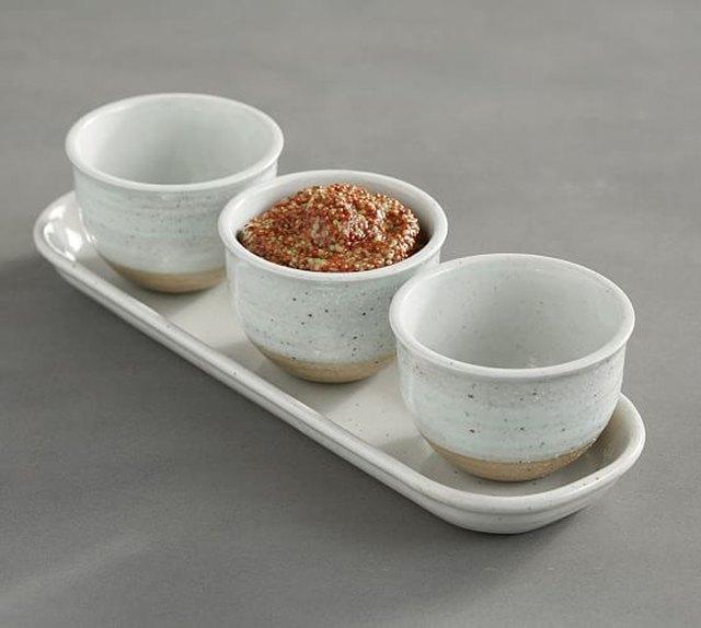 Portland Triple Condiment Serve Bowl