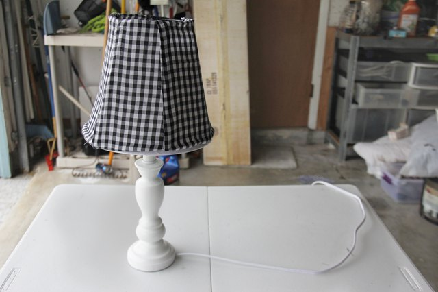 How to make a lampshade from scratch hunker make the lampshade frame greentooth Choice Image