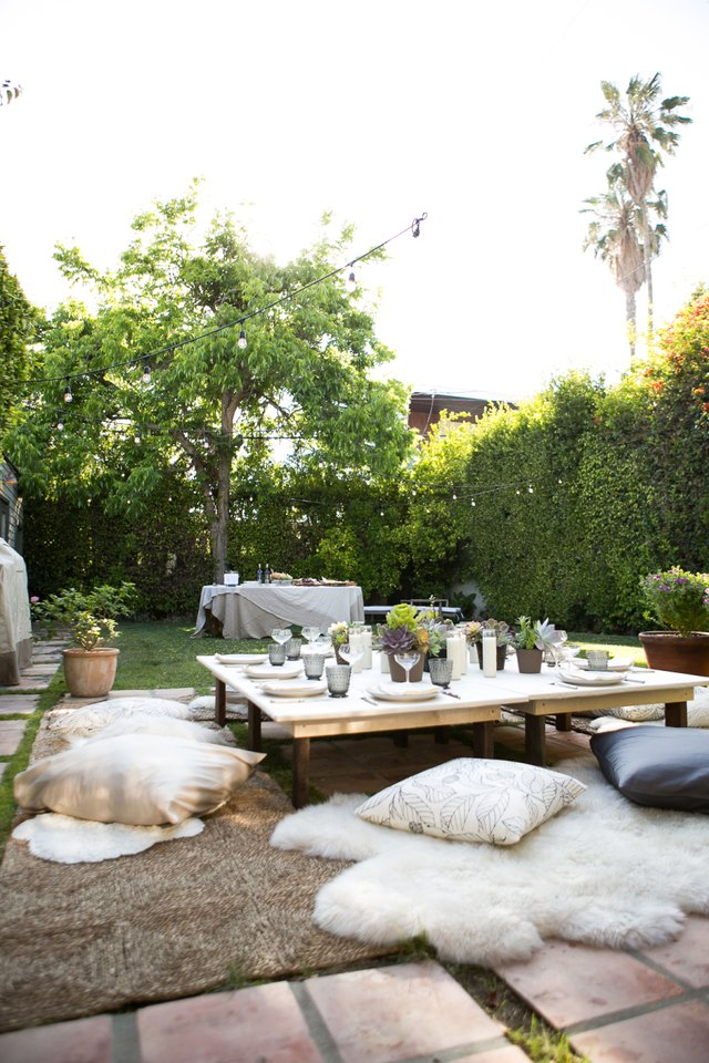 low table garden party