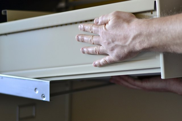 How To Remove A Hon File Cabinet Drawer Hunker