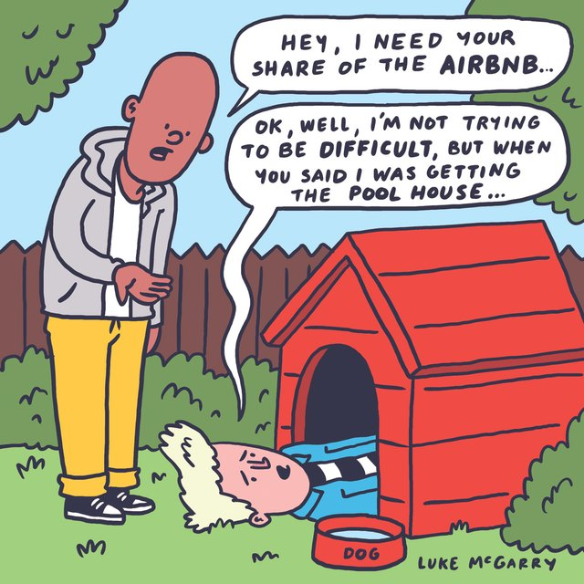 airbnb comic