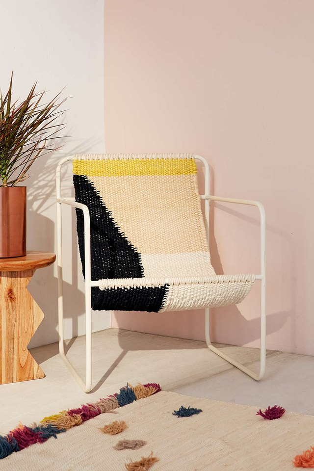Is It Us Or Is This Sling Chair Just Plain Perfection