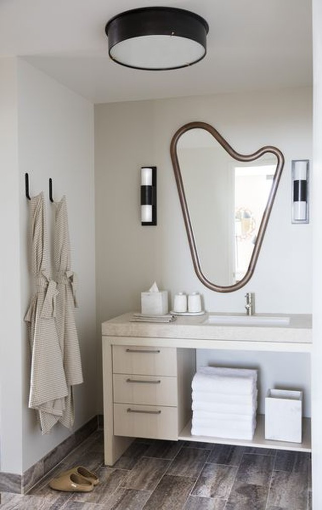 asymmetrical mirror