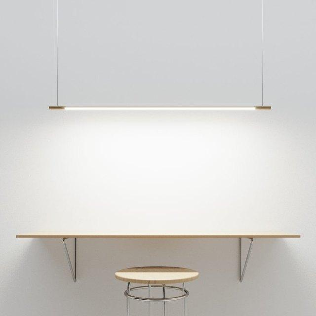 thin suspension light