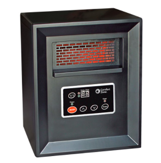 Radiant heater.