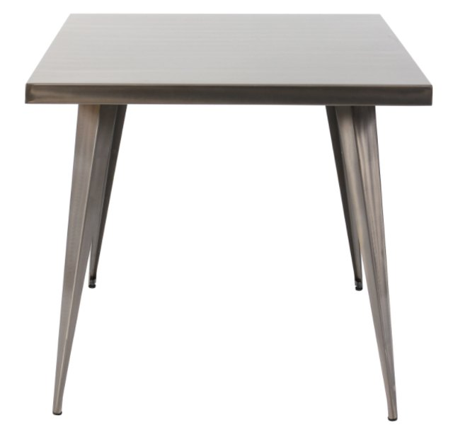 Overstock industrial dining table