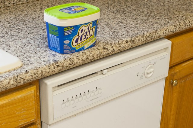 How to Use OxiClean as a Dishwasher Soap | Hunker