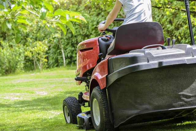 Once your mower starts, it should charge the battery.