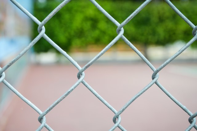 How To Paint A Chain Link Fence Hunker