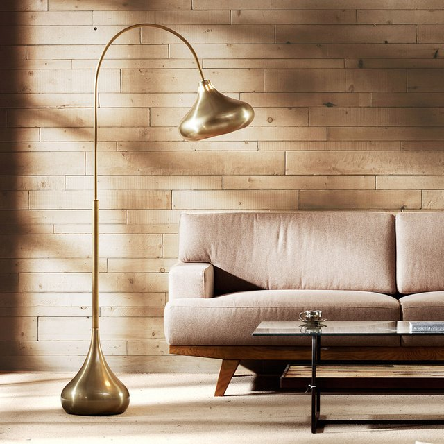 ink and ivy arc lamp