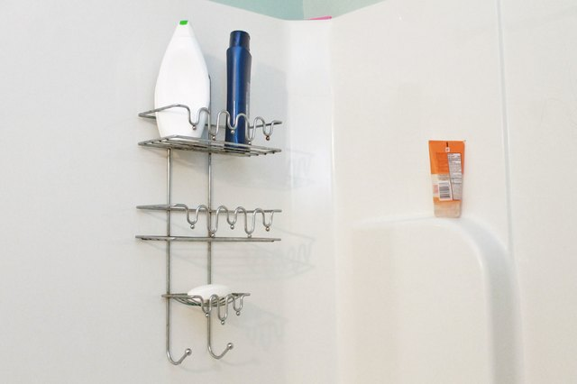 How to Clean a Metal Shower Caddy | Hunker