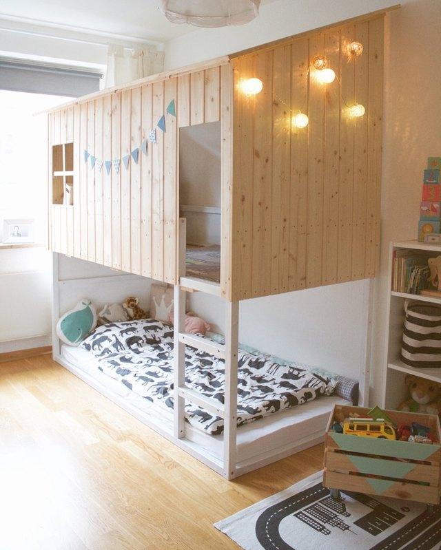 ikea kura bed playhouse