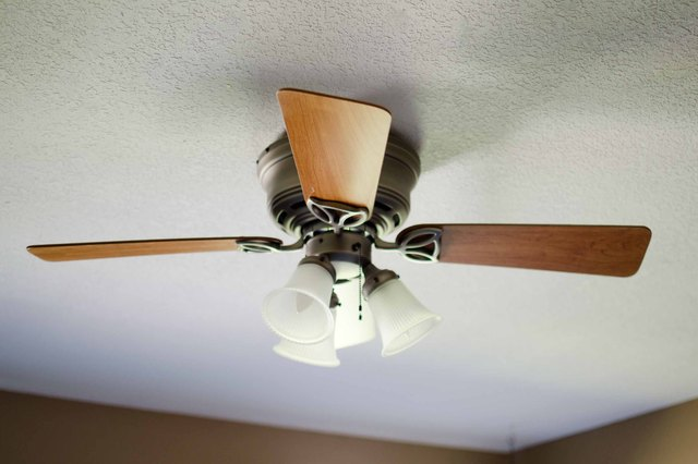 How to keep your ceiling fans dust free hunker add ceiling fan cleaning to your household to do list to remove old dust and keep new dust from settling on your fan aloadofball Gallery