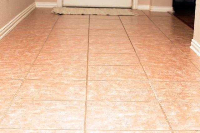 How To Clean Ceramic Tile Floors With Vinegar Hunker - Cleaning dust after tile removal