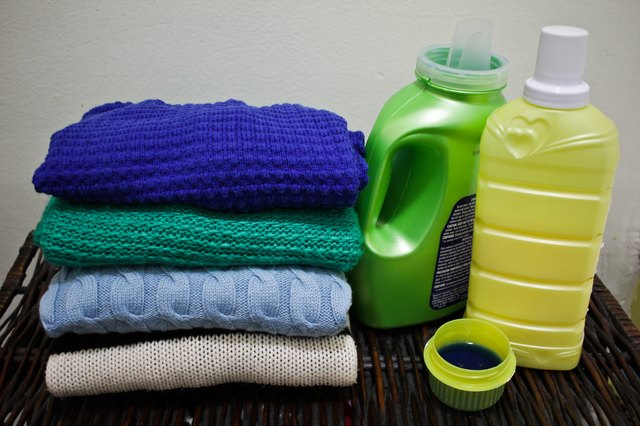 How To Get Fabric Softener Stains Out Of Clothing Hunker