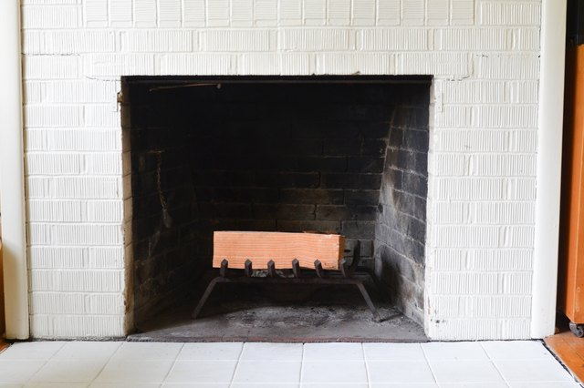 How To Paint Fireplace Stones Hunker