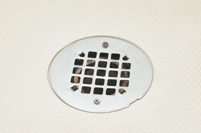 Fortunately, The Drain Cover Is Usually Easy To Remove. Yours May Or May  Not Have Screws Holding It Down.