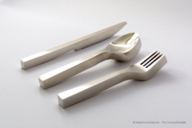 uncomfortable silverware