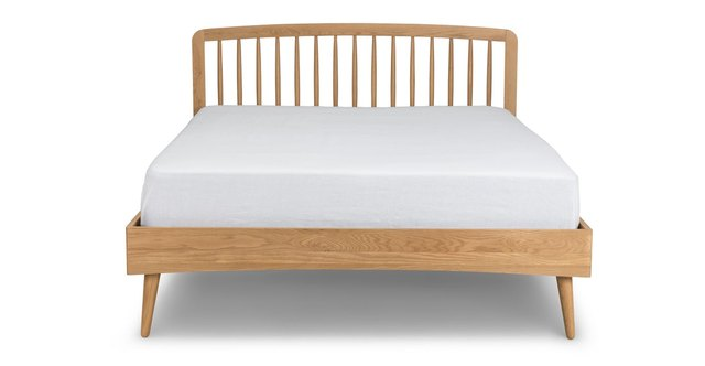 article wood bed
