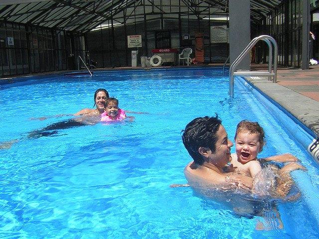 Pool water should be slightly alkaline.