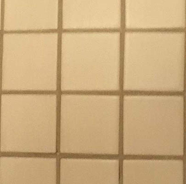 Finished tiling job.