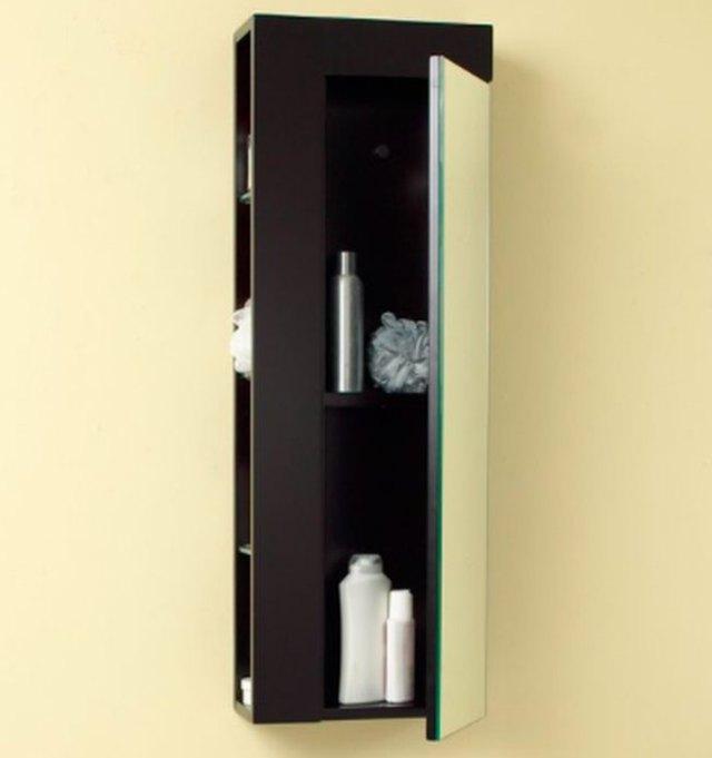 column-style medicine cabinet